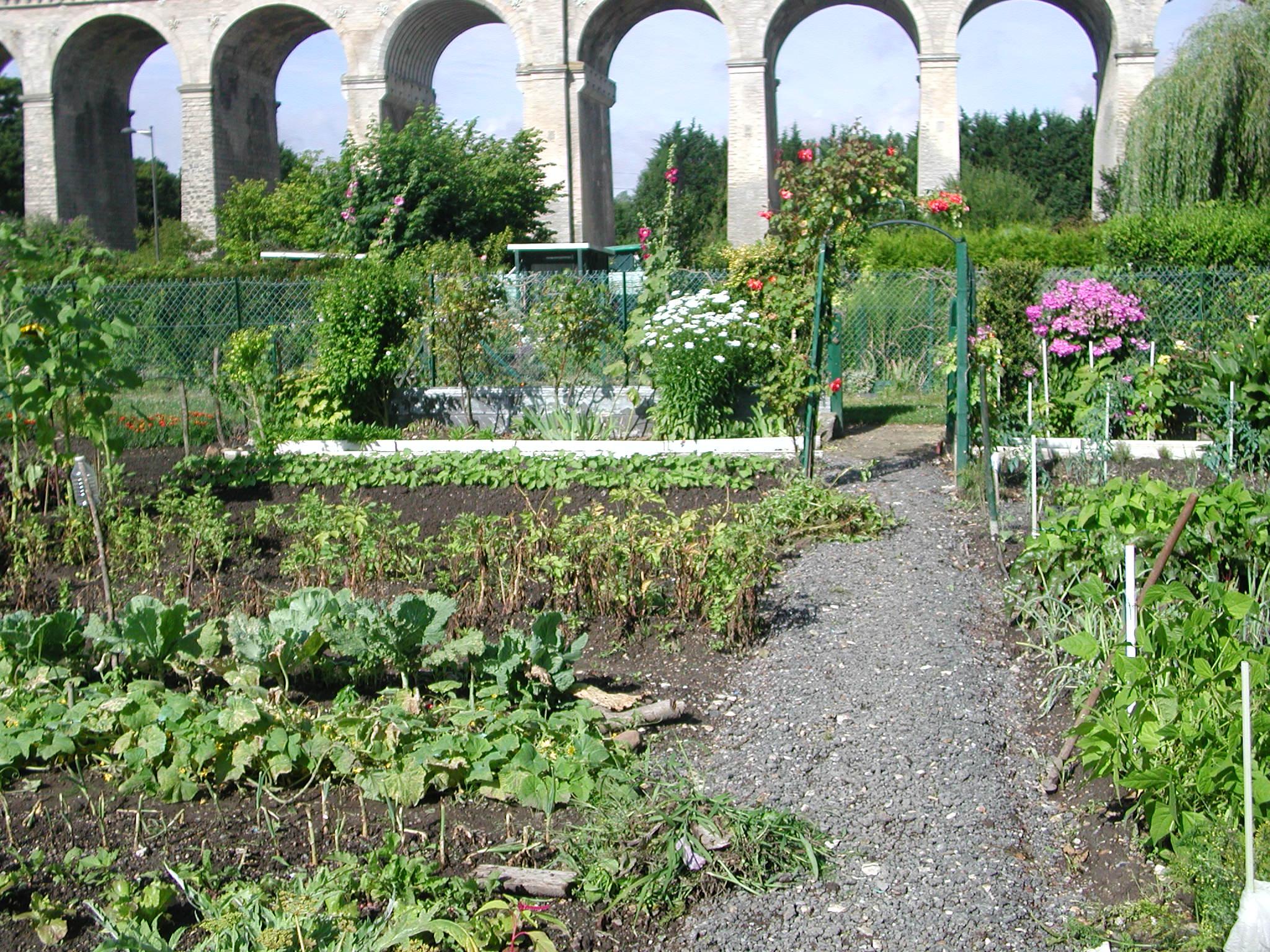 Les jardins de chantilly jardins familiaux de chantilly - Le jardin d hiver chantilly ...